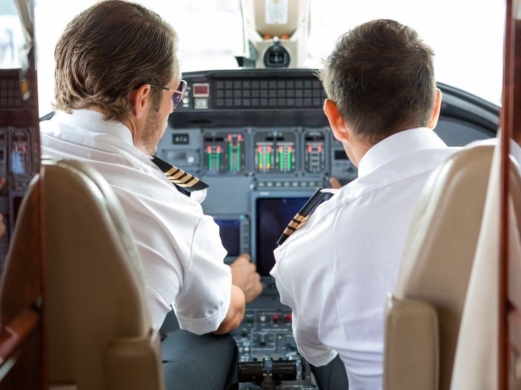 Guiding clients on establishing their flight department