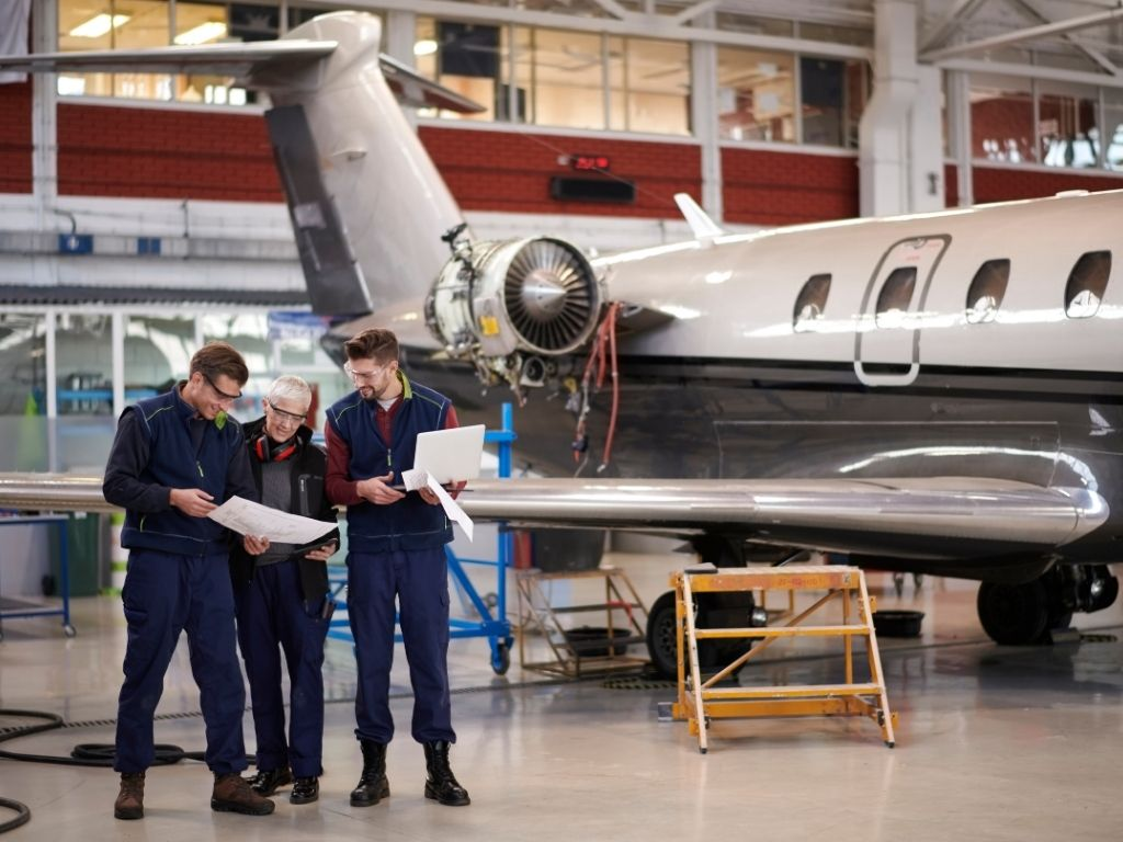 we work directly with trusted aircraft maintenance companies worldwide