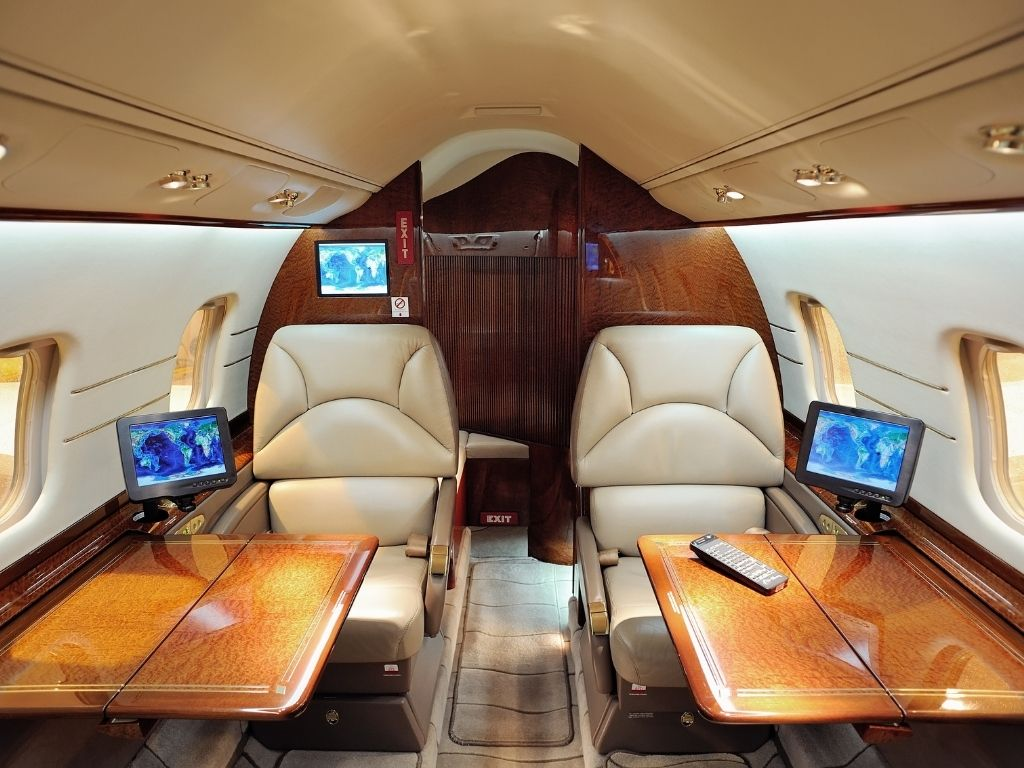 interior of an aircraft has many systems and design elements that we help our clients with